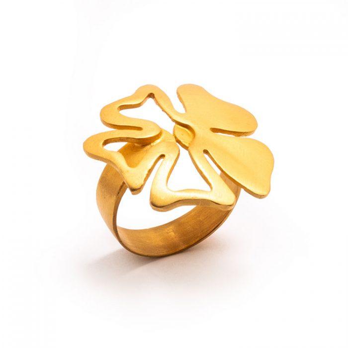 انگشتر گل ارکیده کد R457